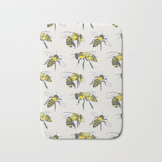 Bees Bath Mat