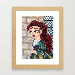 Vittoria Framed Art Print