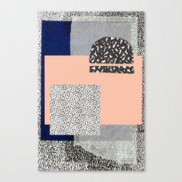 Collage Dropout Canvas Print