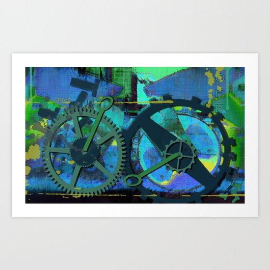 Technic Art Print