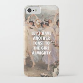 Floralia | Girl Almighty iPhone Case