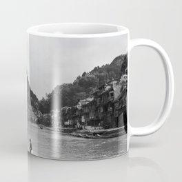 Crossing the river Coffee Mug