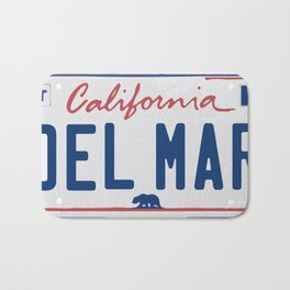 Del Mar - California. Bath Mat