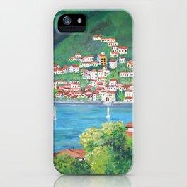 Torno, Lake of Como iPhone Case