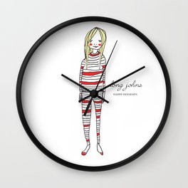 Limited Edition - Long Johns Wall Clock