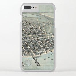 Corpus Christi, Texas 1887 Clear iPhone Case