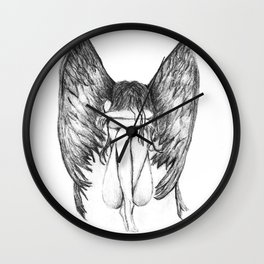 She Weeps- Original Wall Clock