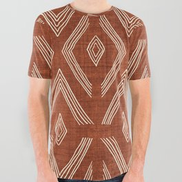 Birch in Rust All Over Graphic Tee
