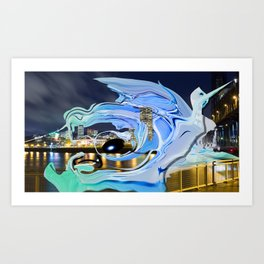 Face of the City Art Print