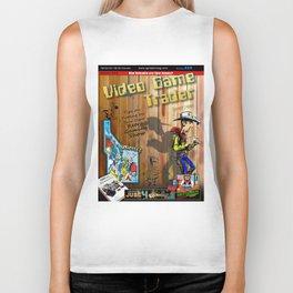 Video Game Trader #25 Cover Design Biker Tank