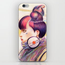 Sweet Dj iPhone Skin