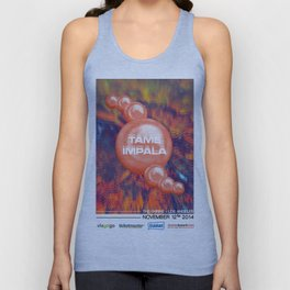 Tame Impala Poster 4 Unisex Tank Top