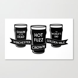 The Winchester, The Crown & The Golden Mile Canvas Print