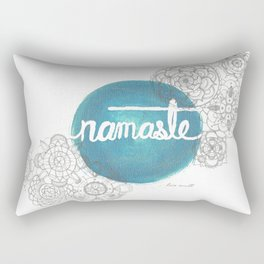 Namaste Mandala  Rectangular Pillow