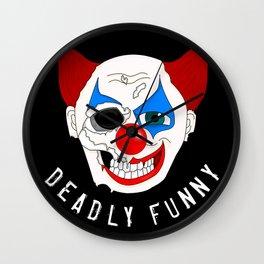 Deadly Funny Wall Clock