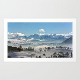 Switzerland, Neuheim Art Print