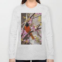 Baltimore Oriole Long Sleeve T-shirt