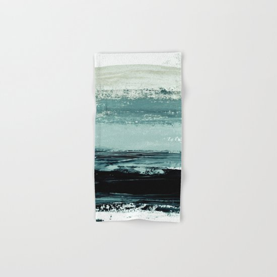 abstract minimalist landscape 4 Hand & Bath Towel