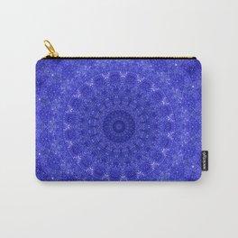 Cosmos Mandala II Cobalt Blue Carry-All Pouch