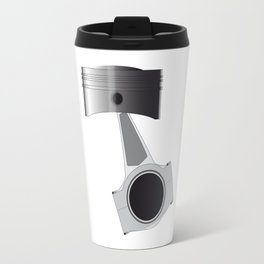Isolated Auto Piston Travel Mug