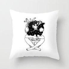 You melt my heart Throw Pillow