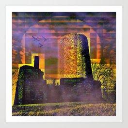 Castle-Art Art Print