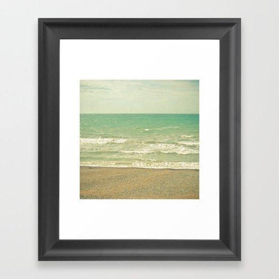 The Sea, the Sea Framed Art Print