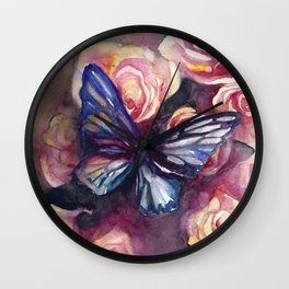 Scent Of Roses Wall Clock