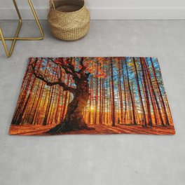 Majestic woods Rug