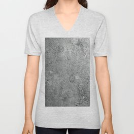 Old Leather Book Cover Lichen Unisex V-Neck
