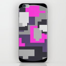 Purple camou iPhone Skin