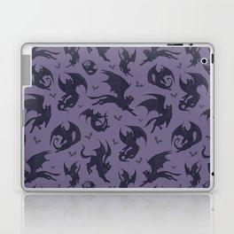 Batcats purple Laptop & iPad Skin