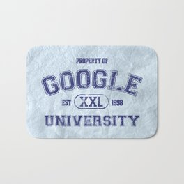 Google University Bath Mat
