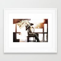 grease Framed Art Prints featuring Grease by DeeDee