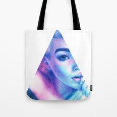 Technicolor Triangle Sh*t Tote Bag