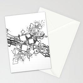 Number One Box - Pen & Ink Illustration Stationery Cards