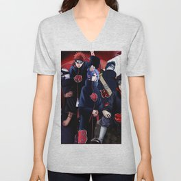 Not as bad as in the guess Unisex V-Neck