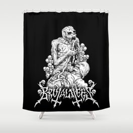 Holy Diver Shower Curtain