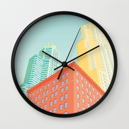 New York tower Wall Clock