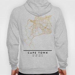 CAPE TOWN SOUTH AFRICA CITY STREET MAP ART Hoody
