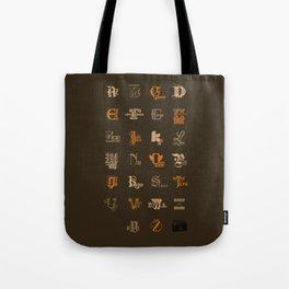 AZ to JayZ Tote Bag