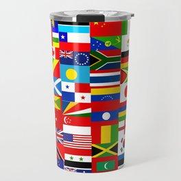 Flag Montage Travel Mug