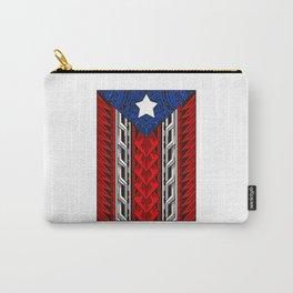 Puerto Rican Tribal Flag - Modern Boricua Carry-All Pouch