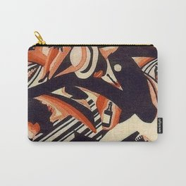 Harlem Renaissance Masterpiece 'Interpretation of Harlem Jazz 1' by Weinold Reiss Carry-All Pouch