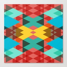 Geometric Crazy 3D Canvas Print