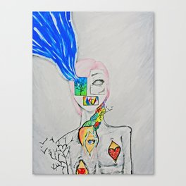 The Pieces of Me Canvas Print