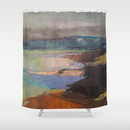Bay Area Marina Shower Curtain