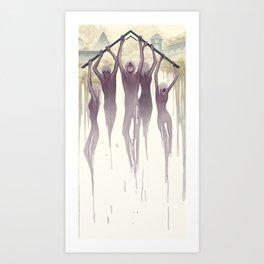 Institution Art Print