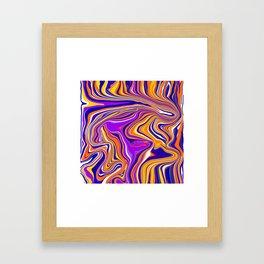 countercurrents Framed Art Print