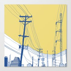 Urban Landscape no.2 Canvas Print